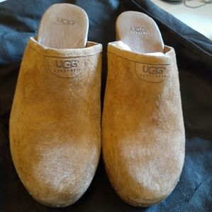 Ladies Suede Clogs Uggs